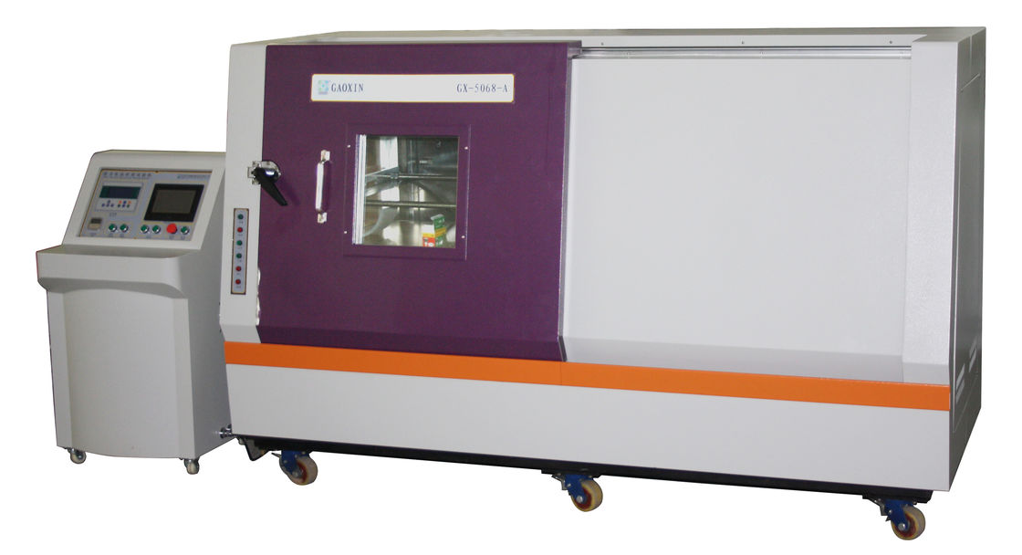Remote Computer Control Horizontal Type Hydraulic Power Battery Nail Penetrating Testing Battery Testing Equipment