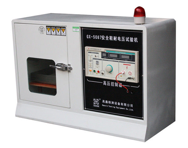 Footwear Testing Equipment For Safety Shoes Withstanding Voltage Test