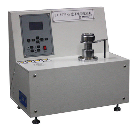Physical Leather Crack Testing Machine And Measurement Equipment For Ball Burst Test