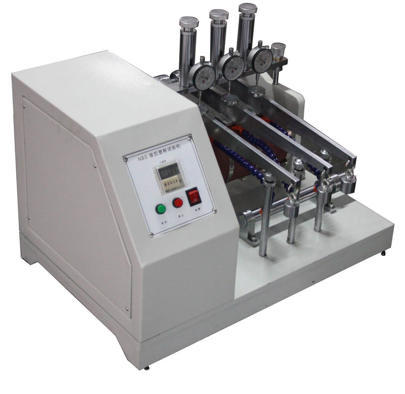 NBS Rubber Abrasion Tester / Testing Machine 45° Incline Angle