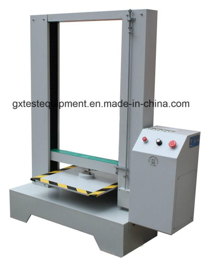 Computer Type Carton Box Compression Resistance Tester
